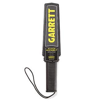 Garrett Metal Detectors Super Scanner Handheld Metal Detecto