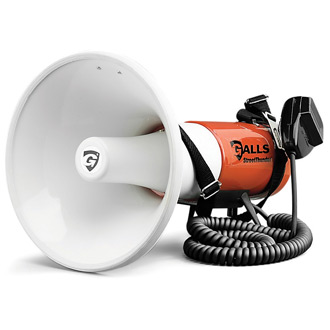 Galls Deluxe StreetThunder Megaphone