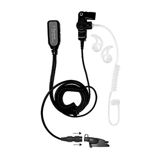 Ear Phone Connection Hawk Lapel Microphone for Motorola XPR
