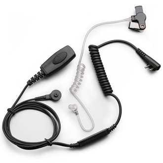 Klein Electronics Sentry 2 Wire Headset for K1-Kenwood 2 Pin