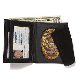Galls Hidden Badge/ID/CC Wallet