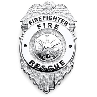 Galls Firefighter Badge