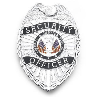 Galls Security Officer Badge