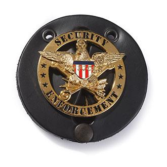 LawPro Leather Badge Holder