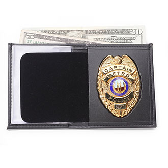 Perfect Fit Bi fold Wallet with Single ID