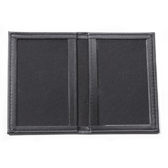 Perfect Fit RFID Blocking Thin Line Book Style Double ID Cas
