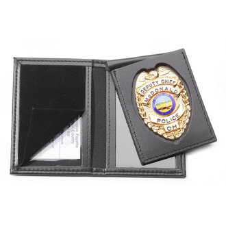 Perfect Fit Thin Line Flip Out Badge and Double ID Case