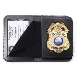 Perfect Fit Four In One Badge Case and ID Holder with 30' Ch