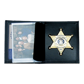 Smith & Warren Dress Leather Single ID Wallet