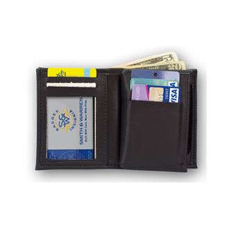 Smith & Warren Hidden Badge Shield Wallet