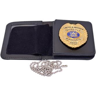 Smith & Warren Duty Leather Multi Function Single Id & Badge