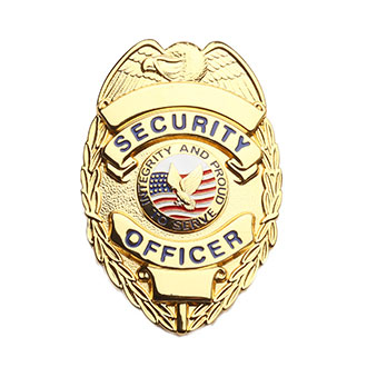 LawPro Lite Security Officer Shield Badge