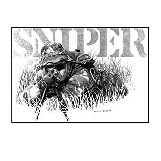 Dick Kramer Sniper Print