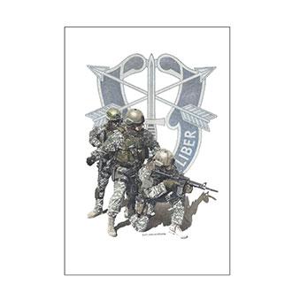 Dick Kramer Special Forces II Print