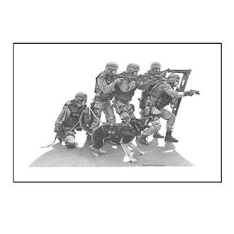Dick Kramer Tactical K-9 Print