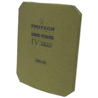 Protech Tactical 2115G Level IV Stand Alone Armor Plate 10X1