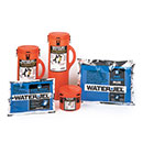 Water-Jel Fire Blanket with canister