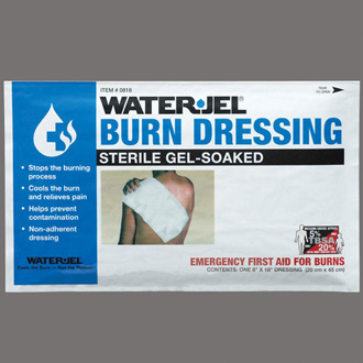 "Water-Jel Sterile Burn Dressing 8"" x 18"""