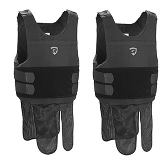 Galls G Force Level II Concealable Body Armor w 2 Carriers