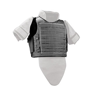 Galls by Point Blank SMG Ballistic MOLLE Vest NIJ Number CII