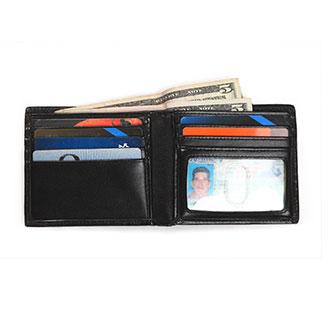 Identity Stronghold RFID 7 Slot Bi-Fold Wallet