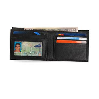 Identity Stronghold RFID 10 Slot Bi-Fold Wallet
