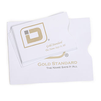 Identity Stronghold RFID Gold Sleeve Combo Pack