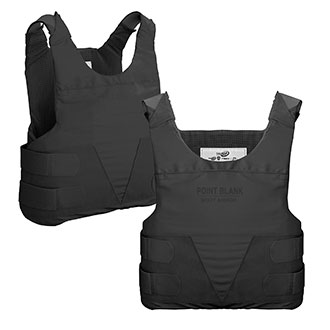 Point Blank SP+2LE Body Armor with Two Hi Lite Carriers