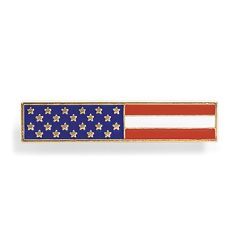 Blackinton American Flag Patriotic Commendation Bar
