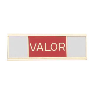 Blackinton Commendation Bar Medal of Valor Fire