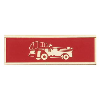 Blackinton Commendation Bar Pumper Truck Crew