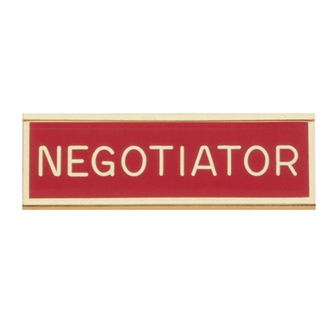 Blackinton Commendation Bar Negotiator