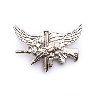 Hero's Pride Center Mass SWAT Operator Insignia with Eagle