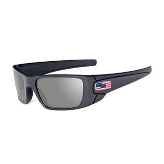Oakley SI Fuel Cell Sunglasses with Gray Tonal Flag