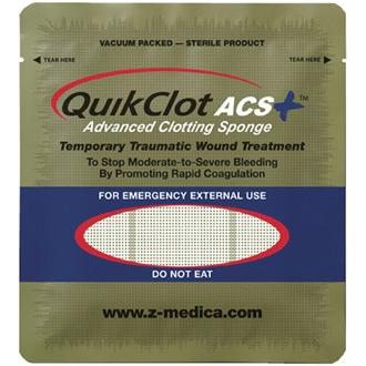 QuikClot ACS 100 gram pouch