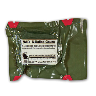 North American Rescue S Rolled Gauze