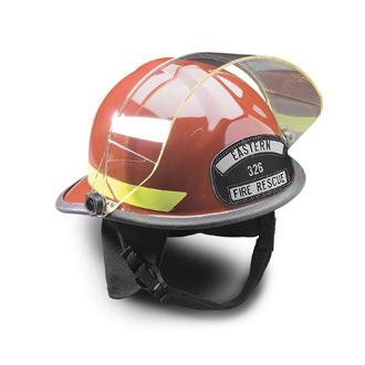 Bullard PX Contemporary Style Firedome Helmet with Faceshiel