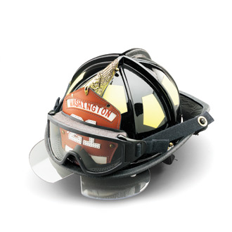 Bullard UST Fire Helmet with Eyeshield and Goggles