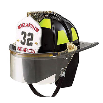 """Lion Paul Conway American Classic Helmet with 4"""" Face S"""