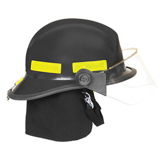 "Fire Dex 911 Modern Style Helmet with 4"" Face Shield"