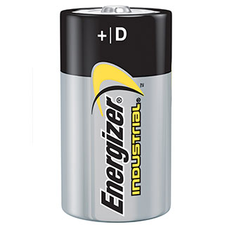 Energizer Industrial D Cell Batteries (12 Pack)