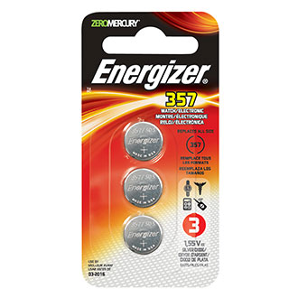 Energizer Electronics Watch Batteries (3 Pack)