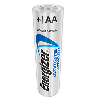 Energizer Ultimate AA Lithium Batteries (4 Pack)