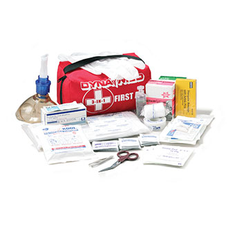 Dyna Med 3-in-1 First Aid Kit with Nylon Bag