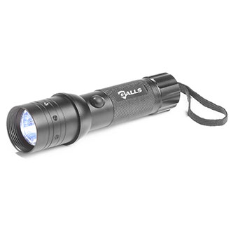 Galls 200 Lumens LED Tactical Light with Wand Tips