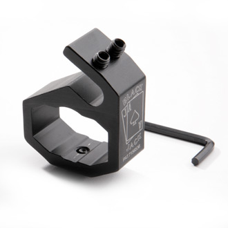 Black Jack Helmet Mount for Pelican Stealth/Streamlight 2-AA