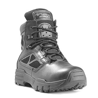 """Tactical Research 6"""" Chrome Side Zip Boot"""