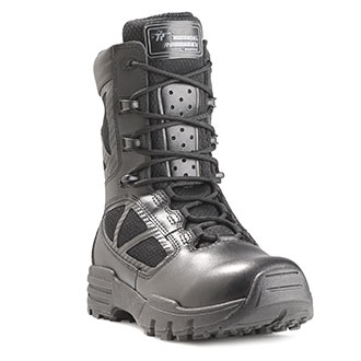 """Tactical Research 8"""" Chrome Side Zip Boot"""