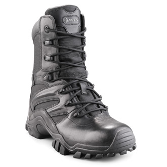 """Bates Women's 8"""" individual Comfort System Leather Nylo"""