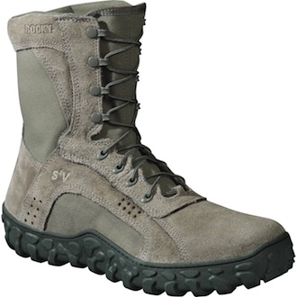 Rocky Sage Green S2V Vented Military Duty Boot